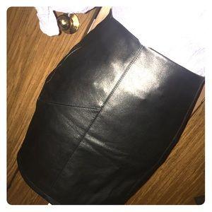 Gorgeous Leather Skirt